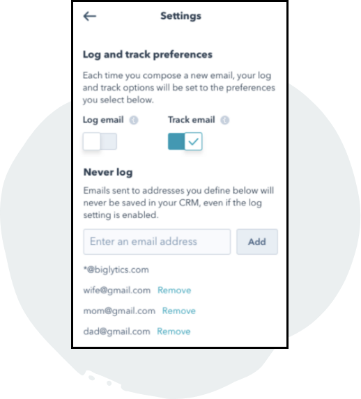 Email Integration & Tracking