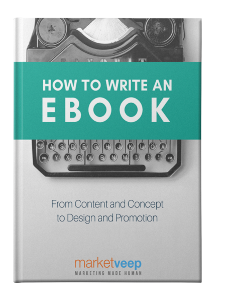 How To Write An Ebook - Cover