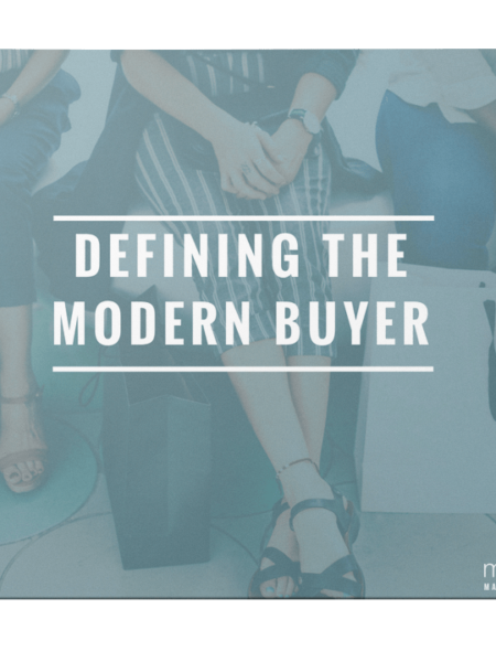 Defining The Modern Buyer Ebook Cover